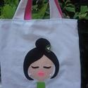 Táska nőknek, Táska, Szatyor, Ez a táska sok mindenre használható, bevásárláshoz, mappák, füzetek, egyéb kézitáskába n..., Meska