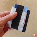Mini tűzoltó tömlő strapabíró bankkártya névjegy irattartó biztonságos kártyatartó 6-8 kártya papírpénz számára -VULCANO, Férfiaknak, Táska, Ékszer, kiegészítő, Pénztárca, tok, tárca, Varrás, Szuper egyedi, gondosan megtervezett és kivitelezett mini kártyatartó strapabíró tűzoltó tömlőből, ..., Meska