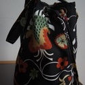 Bucket bag-Virágmintás vászon vödör táska, Táska, Válltáska, oldaltáska, Varrás, A postázási nap a profil oldalamon nyomonkövethetö: http://www.meska.hu/UserProfil/index/8717  Az á..., Meska
