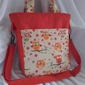 Narancs bagoly női táska, Táska, Baba-mama-gyerek, Ruha, divat, cipő, Válltáska, oldaltáska, Varrás, Igazi nagybetűs NYÁR!!! Színek, vidámság, jókedv, és a sláger BAGOLY!  Kipróbáltam az új táskánkat!..., Meska