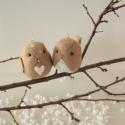 Madárka karácsonyfadíszek, A közelgő ünnepekre érkeztek ezek a kismadarak...