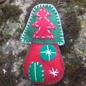 Manóházikó Karácsonyra, Dekoráció, Dísz, Úgy gondolom a Karácsonykor környezetünkben lévő Manók ilyen kis cuki házikókban laknak... ..., Meska
