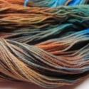 Északi tenger  -kézzel festett gyapjú fonal, 100% merinói gyapjú,kézzel festett fonal.Egyedi...