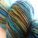 Vihar  -kézzel festett gyapjú fonal- Nikinek LEFOGLALVA, 75% merinói gyapjú és 25 %polyamid ,kézzel fes...