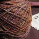 Ősz   -kézzel festett gyapjú fonal, 100 % merinói gyapjú kézzel festett fonal .Egye...