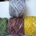 Lefoglalva -kézzel festett és font gyapjúfonalcsomag, 100 % merinói gyapjú kézzel font vékony-vastag...