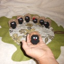 Bábok pezsgősdugóból - Sün Balázs című meséhez, Játék, Báb, Készségfejlesztő játék, Baba-és bábkészítés, Újrahasznosított alapanyagból készült termékek, Bábszínházat játszani otthon is lehet, a bábozásban rejlő lehetőség számtalan. Fejleszti a szem-kéz..., Meska