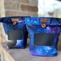 Feliratozható uzsonnás táska,  PUL béléssel (élelmiszerbiztos), UZSONNÁS TÁSKA feliratozható kréta filc textil...