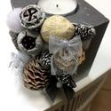 Karácsonyi Gyertyatartó, Otthon & lakás, Karácsony, Karácsonyi dekoráció, Dekoráció, Dísz, Lakberendezés, Gyertya, mécses, gyertyatartó, Gyertya-, mécseskészítés, Kőfaragás, A képen látható gyertyatartó alapján betonból öntöm ki. A képen kb 7x7 cm-es szélességű és 8,5 cm m..., Meska