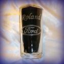 Ford - gravírozott pohár, Férfiaknak, Otthon, lakberendezés, Konyhafelszerelés, Bögre, csésze, Rendelésre készült 2,5 dl-es pohár.   Kérhető más névvel és név nélkül is. A kiírt ár névvel együtt ..., Meska