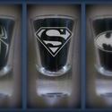 Szuperhős - gravírozott felespohár, Férfiaknak, Sör, bor, pálinka, Mindenmás, Rajongóknak! :)  Gravírozott felespohár Superman logóval.  Más mintával/logóval is rendelhető pohár..., Meska