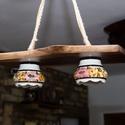2 részes vintage lámpa, Parasztházakba, olyan otthonokba, ahol szeretik a...