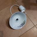 Levendulás lámpa, Levendula mintás vintage lámpa