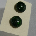 Aventurin Pötty fülbevaló, Zöld csillogó aventurinból készítettem ezt az...