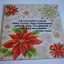 A Dalai láma üzenete, 16x16 cm-es fatáblára készítettem, transzferá...