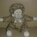 """Kézműves """"piszén pisze"""" baba, Baba-mama-gyerek, Játék, Baba-mama kellék, Baba játék, Baba-és bábkészítés, Pisze babát a kisfiam ihlette! Textil és vatelin kombinációból készült, így akár mosható is. Bababa..., Meska"""