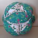 """Bababarát labda """"téli ünnep"""", Baba-mama-gyerek, Játék, Baba-mama kellék, Készségfejlesztő játék, Varrás, A karácsony ihlette ezt a szín- és mintakombinációt! A labda textilből és vatelinből készült. Mosha..., Meska"""