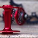 Fülbevaló újrahasznosított kerékpár láncból (szimpla, fekete), Ékszer, óra, Mindenmás, Fülbevaló, Újrahasznosított alapanyagból készült termékek, Ékszerkészítés, Fülbevaló újrahasznosított fekete színű kerékpár láncból  Anyaga: fém kerékpárlánc, nikkelmentes ak..., Meska