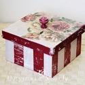 Romantikus rózsás dobozka, Nagyon kedvelem a különböző stílusok harmonik...