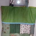 Virágos pamutvászon bevásárló táska, Táska, Szatyor, Válltáska, oldaltáska, Pamutvászon szatyrot varrtam, akár bevásárlásra is használható, nagy méretű. Mérete 41x38 ..., Meska