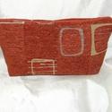 Neszesszer, Táska, Neszesszer, Bútorszövetből készült béleletlen neszesszer, kiváló utazáshoz.  18*32 cm  A képen láthat..., Meska
