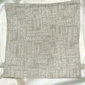 Hátizsák - tornazsák drapp feliratos, Táska, Hátizsák, 35*36 cm vastagabb puha lakástextilből, belső megerősített eldolgozással készült hátizsák ..., Meska