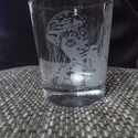 Üveg pohár Avatáros, Konyhafelszerelés, Bögre, csésze, Avatár rajongóknak 2,3dl pohár ,saját kézzel gravírozva. , Meska