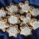 Natúr fehér karácsonyfadíszek  jelöld kedvencnek, Dekoráció, Ünnepi dekoráció, Karácsonyi, adventi apróságok, Karácsonyfadísz, Mézeskalácssütés, 10 darabos, különböző méretű (6-9 cm-esek), írókás karácsonyfadíszek. Kívánság szerint a csomag dar..., Meska