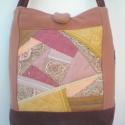 ÁRESÉS! 50% Crazy patchwork női táska 16.000 Ft helyett 8.000 Ft-ért