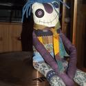 TrollDoll - egy vicces kabala felnőtteknek, Játék, Plüssállat, rongyjáték, Kézzel és géppel öltögetve készült figura. Különleges? Furi? Szerethető? Döntsd el Te! :)  Teste 20,..., Meska