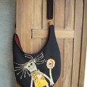 Trollos táska, Koboldos hangulatban koboldos táskát készített...