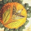 Hej tulipán - kitűző, Ékszer, Bross, kitűző, Textilékszer a táskádra, kabátodra... ... ha neked is van virágoskerted!  Igényes kivitelezésű texti..., Meska
