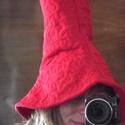 Rumcájsz kalap, Férfiaknak, Farsangi jelmez, Ugye ismerős? Piros, vidám, mesebeli kalap, Manka párjának :)  Mosógépben mosható, vasalni nem szüks..., Meska