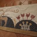 Falvédő szarvassal 200 x 70 cm