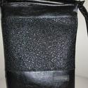 Fekete cross body táska , Jó minőségű Textilbőrből készült táska. M...