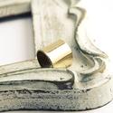 mininál - sárgaréz fülgyűrű, Ékszer, Fülbevaló, sárgarézből készült, minimál stílusú fülgyűrű... fényesre polírozott vagy selyemfényűre mattított vá..., Meska