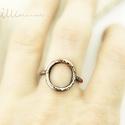 Glória - vörösréz gyűrű, Ékszer, Gyűrű, minimál stílusú, rusztikus, kalapált vörösréz gyűrű. belső átmérője 17mm  hozzá passzoló hasonló stí..., Meska