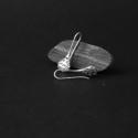 Kelet  varázsa fülbevaló, Ékszer, Fülbevaló, Medál, Ezüstből készítettem ezt az elegáns cseppformájú, fűrészelt, áttört mintájú fülbevalót. A növényi mo..., Meska