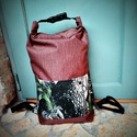 Unisex  vízálló cordura   roll up hátizsák biciklis zsák, Táska, Válltáska, oldaltáska, Hátizsák, Ez a hátizsák a szabadságom idején is megvásárolható, mivel készleten van, Kérlek írj üze..., Meska