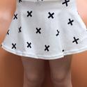 Mászóka-szoknya pluszos, Ruha, divat, cipő, Gyerekruha, Kisgyerek (1-4 év), Varrás, Mászóka-szoknya Aktív kislányoknak nem árt, ha a pelust/ bugyit eltakarja egy praktikus, a szoknyáb..., Meska