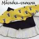 Mászóka-szoknya zebra, Ruha, divat, cipő, Gyerekruha, Kisgyerek (1-4 év), Mászóka-szoknya Aktív kislányoknak nem árt, ha a pelust/ bugyit eltakarja egy praktikus, a szoknyába..., Meska