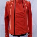 Férfi softshell kabát, Ruha, divat, cipő, Férfi ruha, Varrás, Férfi szoftshell kabát bringázáshoz kialakítva,kényelmi többlettel,fényvisszaverő csíkokkal., Meska