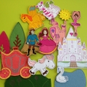 Királylányos csomag -15 db mágneses játék, Baba-mama-gyerek, Dekoráció, Játék, Otthon, lakberendezés, Kollekciónk egyik kisebb csomagja a KIRÁLYLÁNYOS melyben az alábbi figurák találhatóak meg :  ( bale..., Meska
