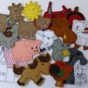 Farm kollekció - 15 db mágneses játék, Baba-mama-gyerek, Dekoráció, Játék, Otthon, lakberendezés, Kollekciónk egyik csomagja a FARM melyben az alábbi figurák találhatóak meg :  ( bárány, cica, egér,..., Meska