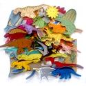 Dinoszaurusz kollekció - 30 darab figura, Baba-mama-gyerek, Dekoráció, Játék, Otthon, lakberendezés, Kollekciónk egyik csomagja a DINOSZAURUSZOK melyben az alábbi figurák találhatóak meg :  ( Ankylosau..., Meska