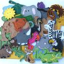 Szavanna kollekció ( 30 db figura  ), Baba-mama-gyerek, Dekoráció, Játék, Otthon, lakberendezés, Hímzés, Mindenmás, Kollekciónk egyik csomagja a SZAVANNA, melyben az alábbi  figurák találhatóak meg : antilop, bivaly..., Meska