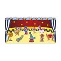 Cirkusz kollekció - 10 db mágneses játék + fémtábla, Baba-mama-gyerek, Dekoráció, Játék, Otthon, lakberendezés, Kollekciónk egyik csomagja ez a 10 darabból álló, CIRKUSZ csomag, melyhez tartozik egy 40 cm x 80 cm..., Meska