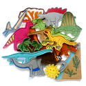 Dinoszaurusz kollekció - 15 darab figura, Baba-mama-gyerek, Dekoráció, Játék, Otthon, lakberendezés, Kollekciónk egyik csomagja a DINOSZAURUSZOK melyben az alábbi figurák találhatóak meg : Apatosaurus,..., Meska