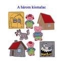 A három kismalac készlet - mágneses figurák, Játék, Varrás, Kínálatunkban most már ismert mesék figuráit is megtaláljátok., melyekkel garantált a szórakozás.  ..., Meska