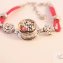 Romantikus cserélj és indulj! karkötő / Vintage change and go! bracelet, Ékszer, óra, Karkötő, A legújabb trendi kiegészítő, amely bármilyen színű és stílusú ruhához viselhető a cserélhető gombok..., Meska